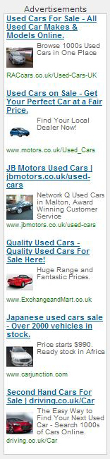hove car buying