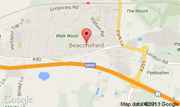 beaconsfield map