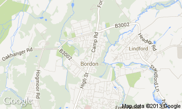 bordon map