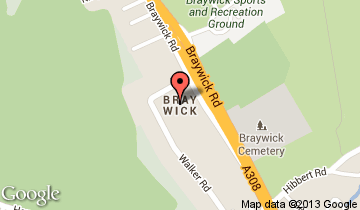 bray wick map