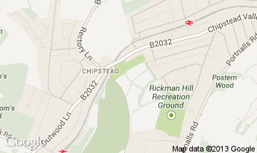 chipstead map