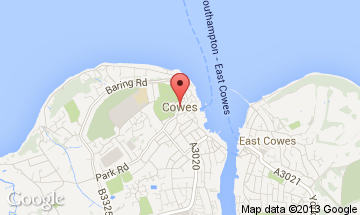 cowes map