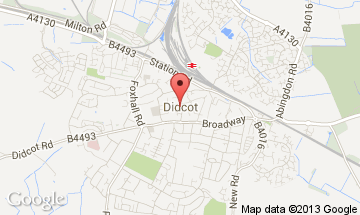 didcot map