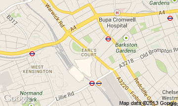 earls court map