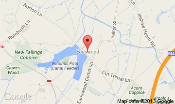 earlswood map