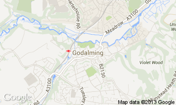godalming map