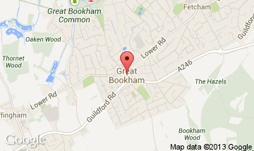 great bookham map