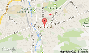 guildford map
