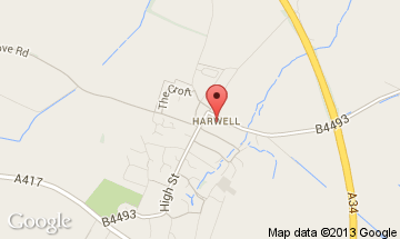 harwell map