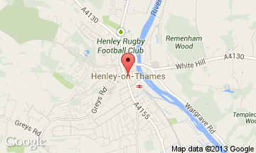 henley on thames map