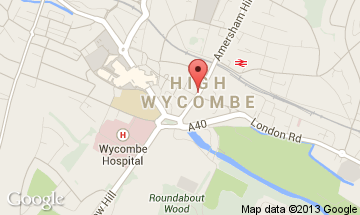 high wycombe map