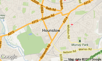hounslow map