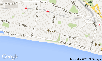 hove map