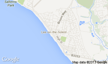lee-on-the-solent map