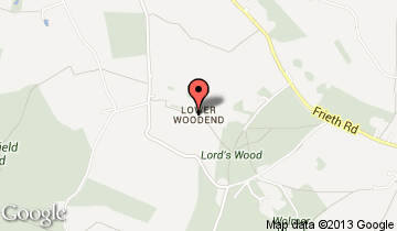 lower woodend map