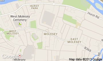 molesey map