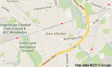 new malden map