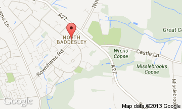 north baddesley map