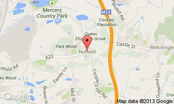 nutfield map