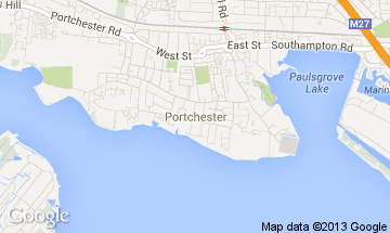 portchester map