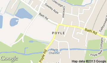 poyle map