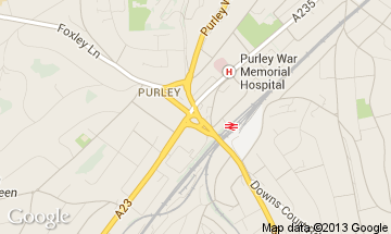 purley map