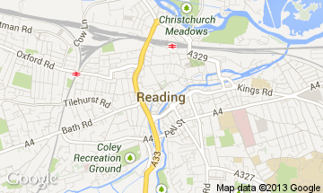 reading map