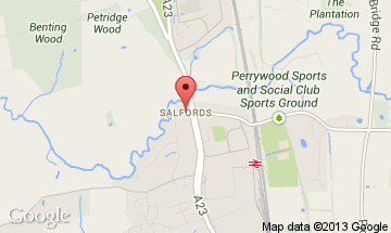 salfords map