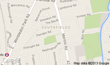 southfields map