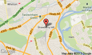strawberry hill map