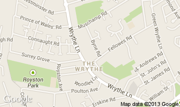 the wrythe map