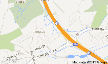 theale map