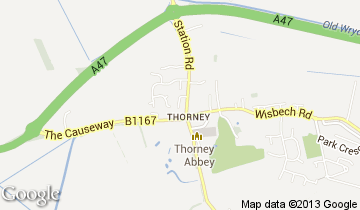 thorney map