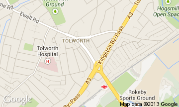 tolworth map