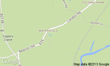 watersfield map