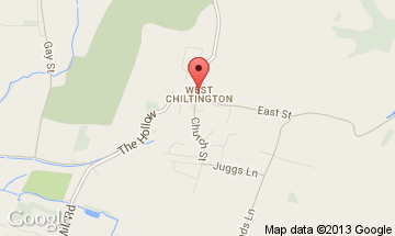 west chiltington map