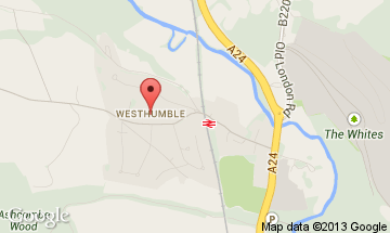 westhumble map