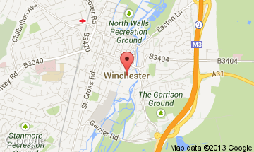 winchester map