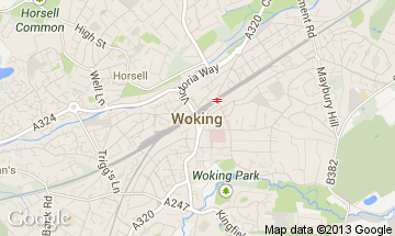woking map